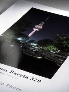 Photo Gloss Baryta 320g, DIN A4, 25 Blatt